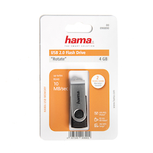 Hama 4GB USB Memory Flash Drive  medium