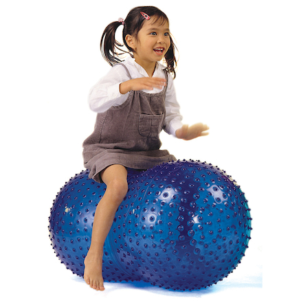 Sit On Peanut Shaped Balance Ball  large