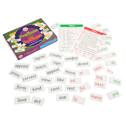Prefixes & Suffixes Game  large