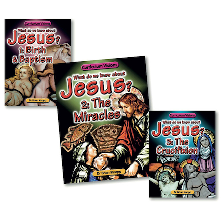 The Life and Crucifixion of Jesus Books 3pk  large