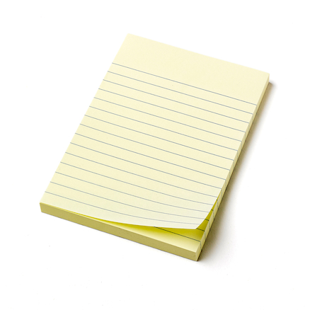 Lined Sticky Note Pads  large