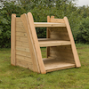 Rustic Outdoor Shelving  small