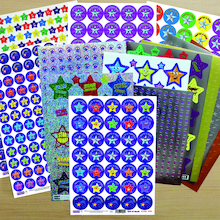 Stars and Superstars Reward Stickers 1182pk  medium