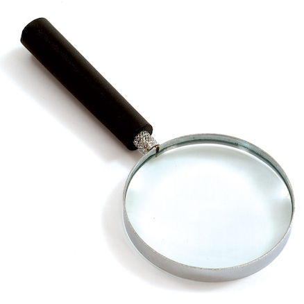 Glass Hand Magnifier  large
