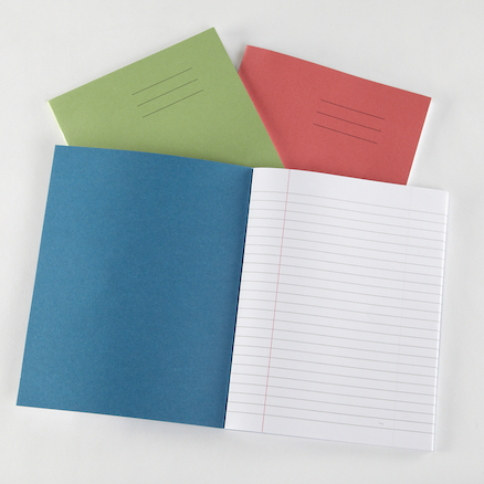 8 x 6.5'' 48 pages 100pk Exercise Books  large