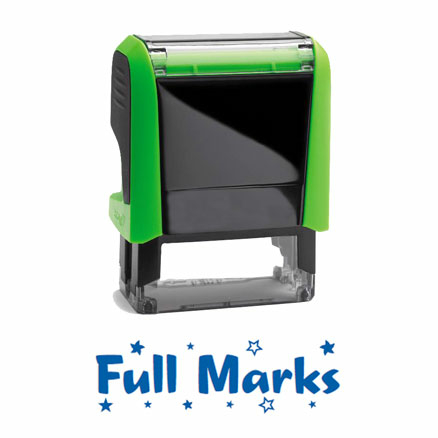 Self Inking Marking Stamps 38 x 13mm  large
