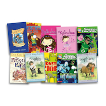 Level 12 Brown Band Booster Books 10pk  medium