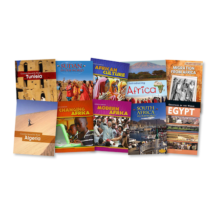 Learn About Africa Books 10pk  large
