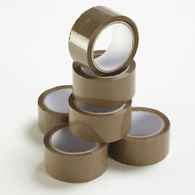 Brown Vinyl Packaging Tape 66m Roll  medium