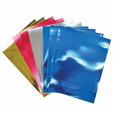 A4 Mirror Board Assorted 50pk  large