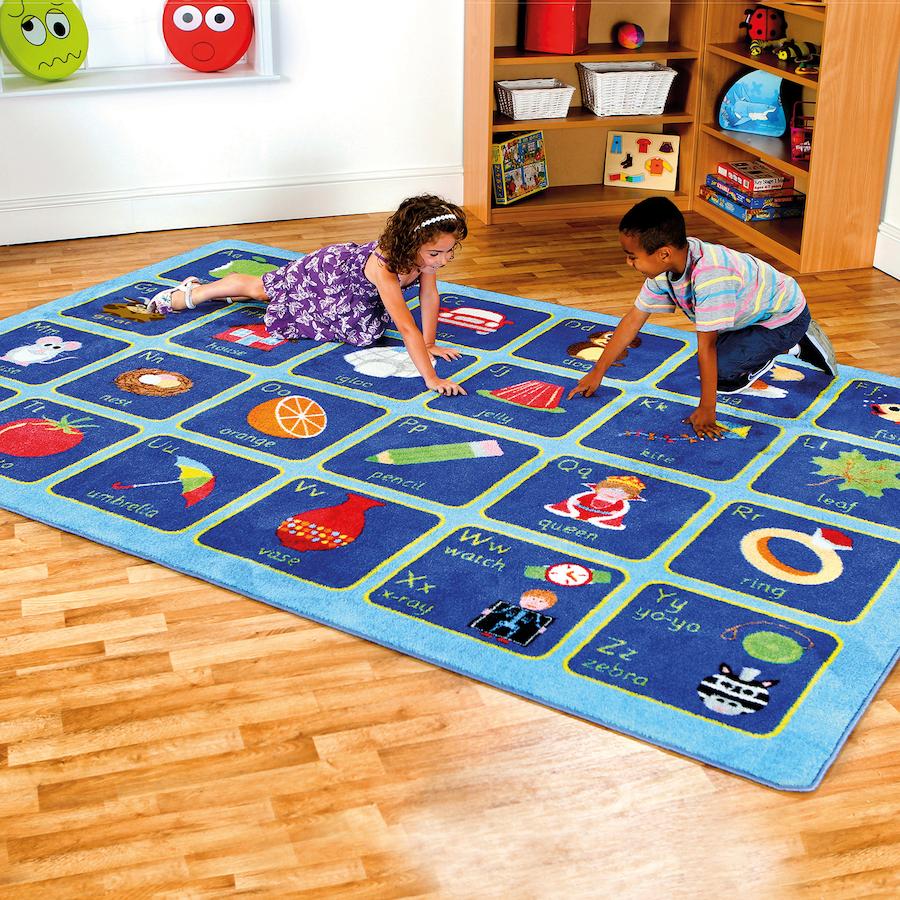 alphabet rug 3 x 2m