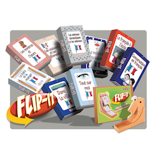 Flip-It French Topic Cards Set  medium