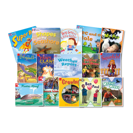 Red Band Reading Book Pack  large