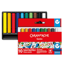 Caran D'ache Assorted Half Wax Pastels  medium