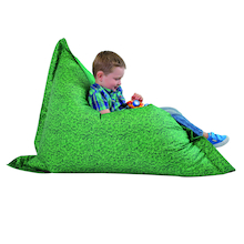 Grass Printed Children's Floor Cushion  medium