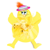 Tactile Easter Chick Decorations  small