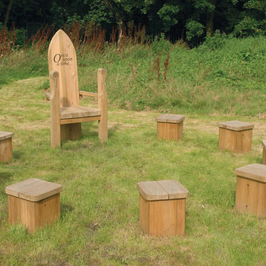 Buy Outdoor Wooden Story Circle Tts