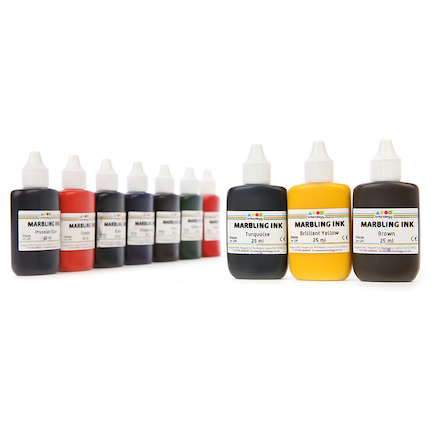 Marbling Ink Assorted Set 10 x 25ml  large