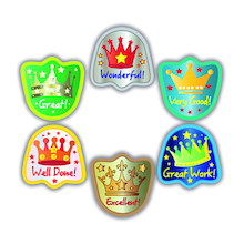 Crown Reward Stickers 300pk  medium