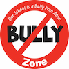 Bully Free Zone Sign  small
