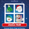 Joyeux Noel French Activity Book  small