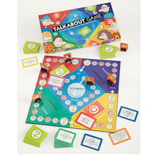 Talkabout Self Esteem and Social Skills Game  medium