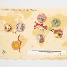 Ancient Civilisation Map A1  medium