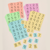 Coloured Digit Cards Class Pack  small