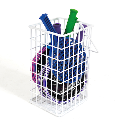 Rounders Bat Wire Basket  large