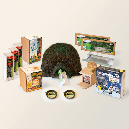 Wildlife Investigation Kit Birds Bees Hedgehogs  large