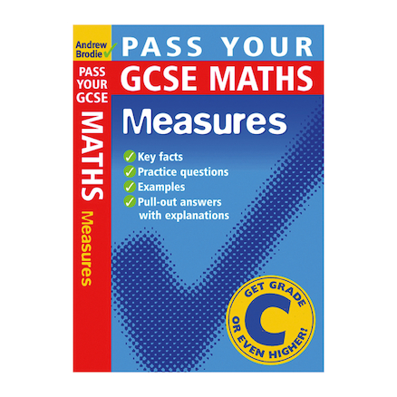 Pass Your GCSE Maths Measures Revision Book  large