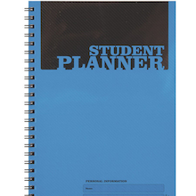 A5 Wirebound Student Planner 10pk  medium