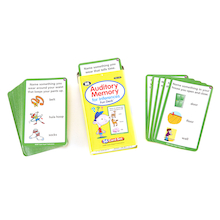 Auditory Memory For Inferences Activity Cards  medium