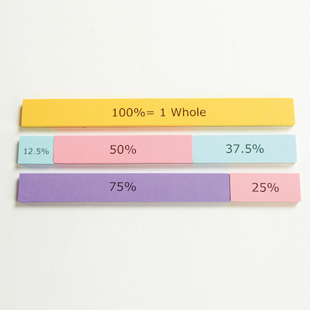 Foam Magnetic Percentage Action Bar 122pcs  large