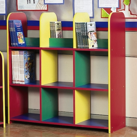 Medium Box Unit Coloured Bookcase  large