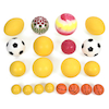 Jumbo 20 Mixed Foam and PVC Play Balls with Bag  small