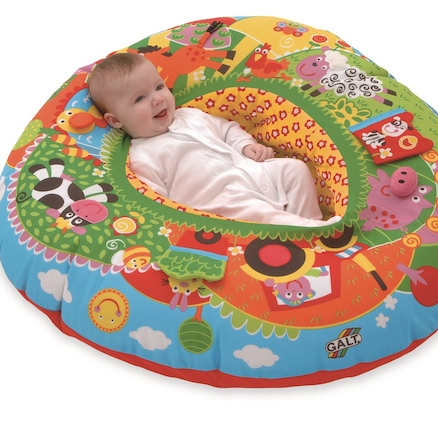 Inflatable Fabric Baby Playnest  large