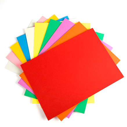 A3 Coloured Card 50pk  large