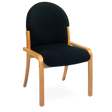 Wooden Framed Upholstered Chair  medium
