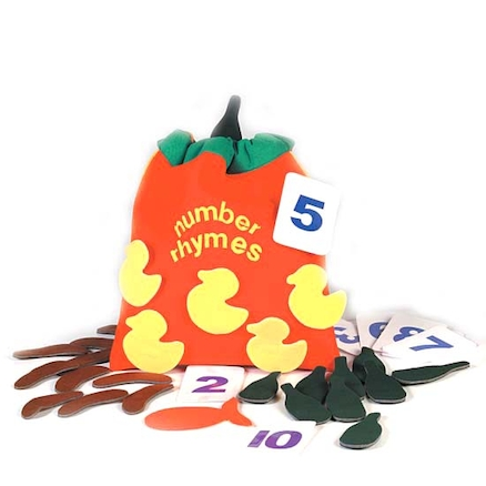 Number Counting Rhymes Bag  large