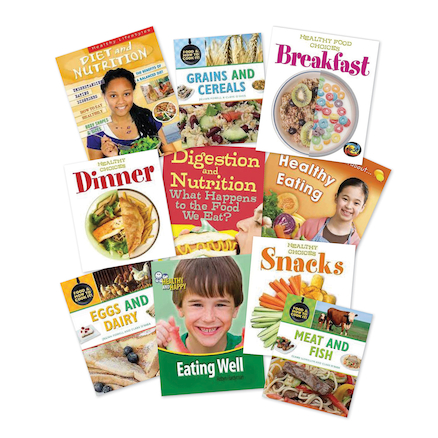 Eating Well and Healthy Books KS2 10pk  large