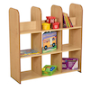 Maple Open Back Bookcases  small