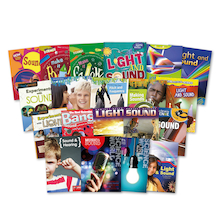 KS2 Light and Sound Books 20pk  medium