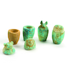 Replica Egyptian Burial Canopic Jars 4pk  small