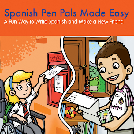Spanish Pen Pals Made Easy Book  large