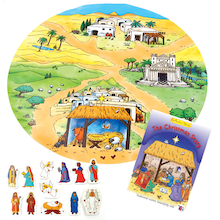 Reflective Storybag Nativity Story  medium