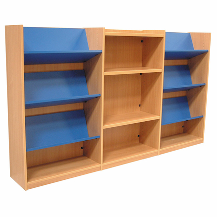 Library Wall Unit H120 x W309.5 x D30.5cm  large
