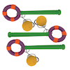 Swinging Foam Catch Loop and Ball 3pk  small