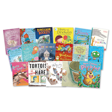 KS1 and KS2 Mixed Ability Fiction Books  medium