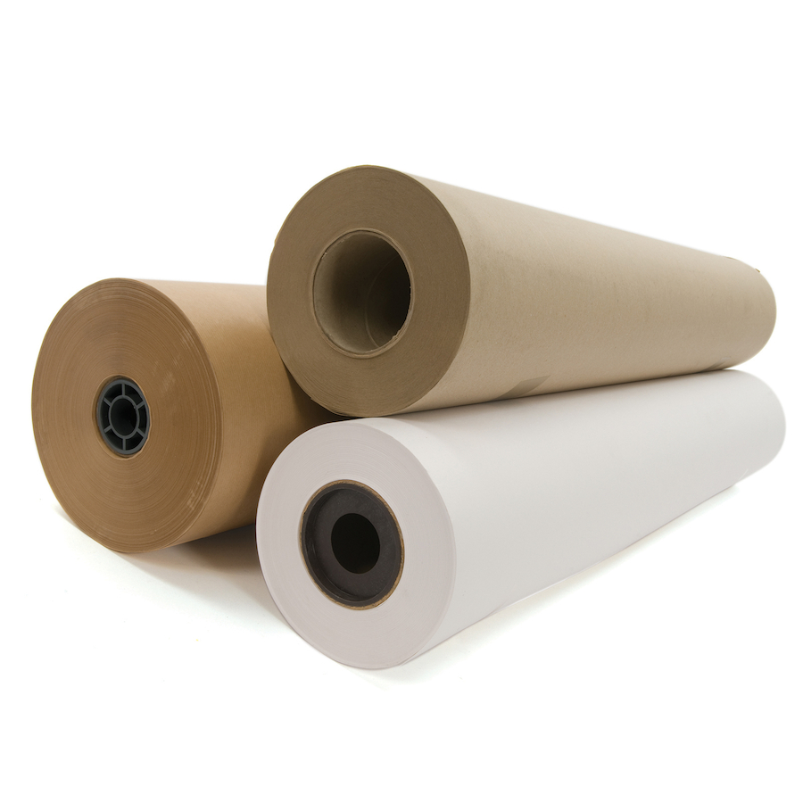 Buy brown heavy duty craft paper roll 900mm x 50m tts for Brown craft paper rolls